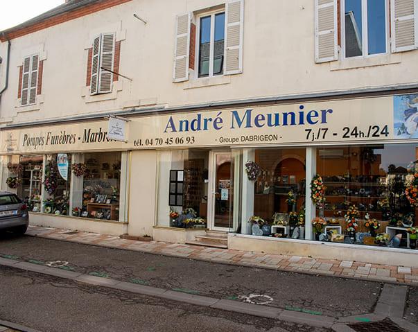 Pompes funèbres Meunier à Varennes-sur-Allier - Allier (03)